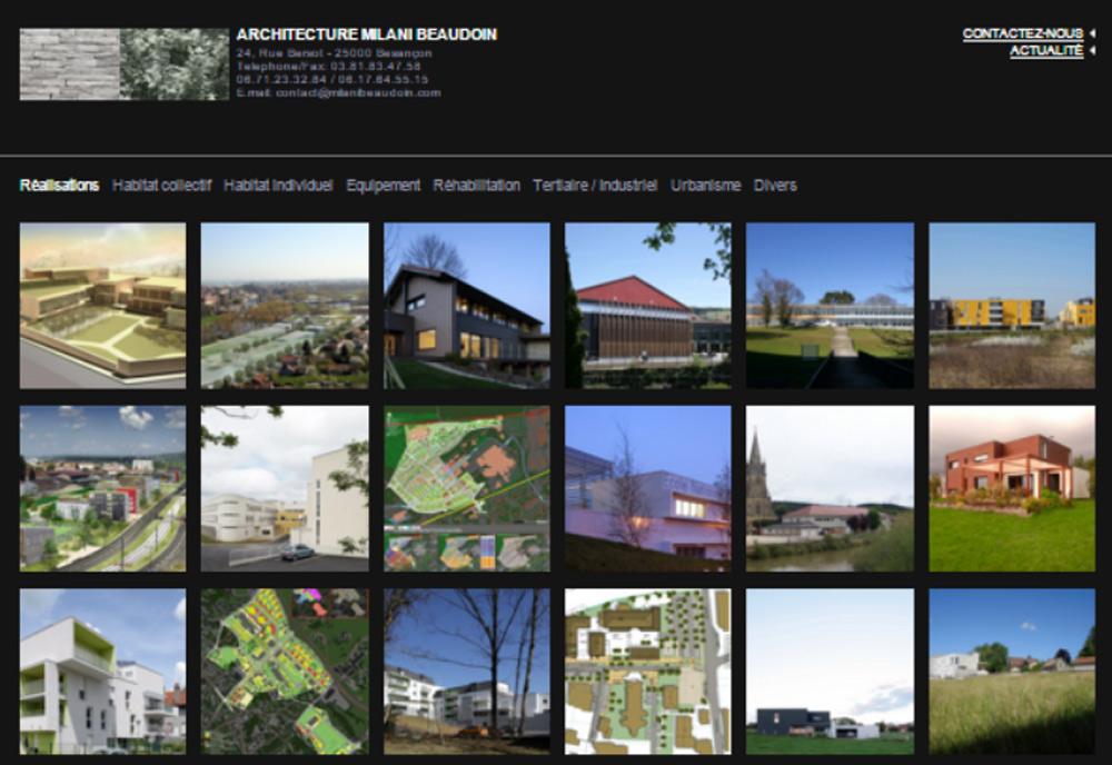 Nos r f rences et cr ations de site internet accentcom for Agence vauban besancon
